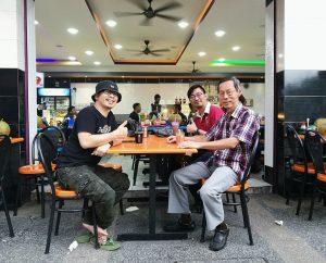 Perjumpaan dengan Mr. Koo mengenai projector kpf 2016