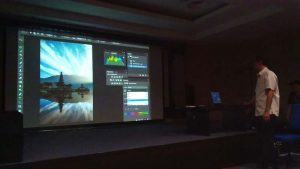 BENGKEL PHOTOSHOP AGAH PERMADI KPF2016 KINABALU PHOTO FESTIVAL